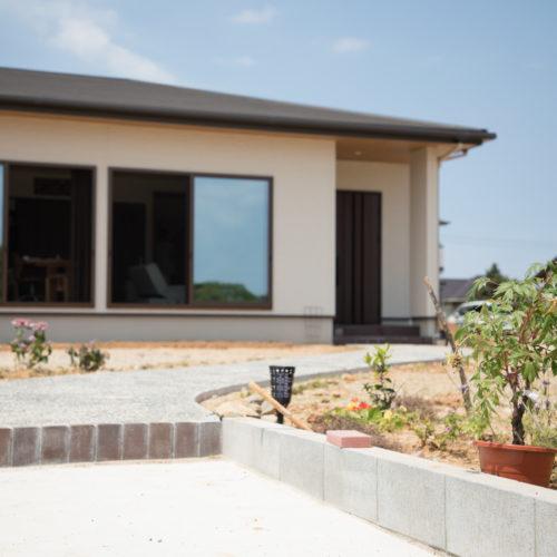 爽やかな風と光にあふれる平屋の家